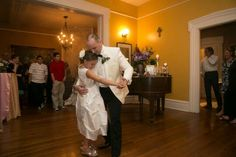 Father daughter dance at The Lasker Inn