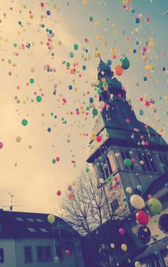 Balloons are a celebration of a joy and happiness!