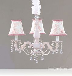 Pink lydia chandelier chandeliers room and girls princess room shabby chic style mini chandeliers in pink perfect for nursery lighting wonderful nursery baby bedroom design with chandeliers nursery design ideas aloadofball Images