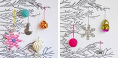 beautiful ornaments !! my little day