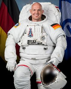 European Space Agency astronaut Alexander Gerst #space #astronaut