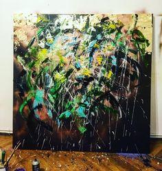 "67 aprecieri, 2 comentarii - BMR -🎨 painter (@bogdanmihairadu) pe Instagram: ""#painting #searching #mywork #art🎨 #artlife #artwork #atelierbogdanmihairadu #bucharestbynight…"" Painting, Life Art, Art, Painter"