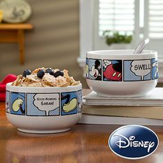 Disney® Personalized Mickey Mouse Bowl