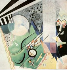 Wassily Kandinsky - Green Composition