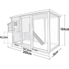 Chicken Coop Ideas 845339792540347427 - poulailler 2 poules plan Source by vincentchapel Diy Chicken Coop Plans, Chicken Home, Chicken Pen, Building A Chicken Coop, Norway House, Rabbit Hutches, Hobby Farms, Raising Chickens, Chickens Backyard