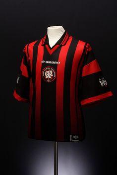Clube Atlético Paranaense Football Shirt (home, 1998)
