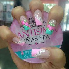 Super tierno Nail Designs 2017, Nail Polish Designs, Cool Nail Designs, Swag Nails, Fun Nails, Painted Nail Art, Finger, Luxury Nails, French Tip Nails