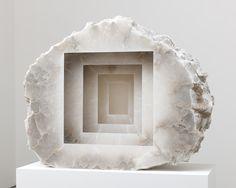 Anish Kapoor, Blind, 2013, Alabaster sculpture.