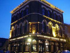 Effra Hall Tavern, Kellett Road, Brixton, Lambeth, London SW9, October 2003