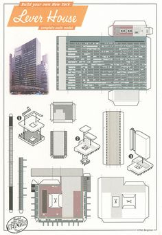 Lever House, New York - Cut Out Postcard by Shook Photos, via Flickr