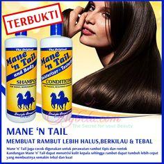 """Malu dengan rambut rusak dan bercabang ? atau rambut anda selalu kering dan susah si atur ? Ingin punya rambut seperti Jennifer Aniston, Kim Kardashian, Anggun, dll ?? yukk gunakan shampoo mane n' tail sekarang , dijamin dan terbukti !!! ========================  yukk order dengan sms ke 089652345657 atau add bbm kami di 7E9D4C52 """"DICARI RESELLER DAN DISTRIBUTOR DI INDONESIA"""""""