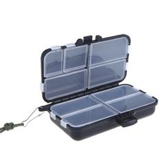 Sports & Entertainment Selfless Fishing Tackle Box Fly Fish Spinner Bait Minnow Popper 9 Compartments Box For Carp Fishing Accessories