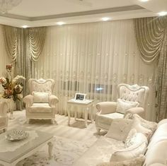 390 especially for you, the most complete decoration of the best home living rooms from social media gathered 30 Elegant Living Room, Cozy Living Rooms, Living Room Colors, Home Living Room, Living Room Designs, Living Room Decor, Decor Room, Salons Cosy, Home And Deco