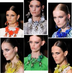 Spring 2013 runway #jewelry
