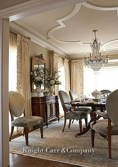 View The Top Greensboro Interior Designers. Completely visual resource guide to the best contemporary & traditional Greensboro interior designers #FormalDiningRooms