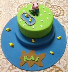 Peppa Pig - George Pig Childrens Birthday Cake