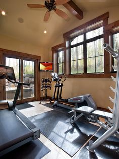 Would love to have a home gym!