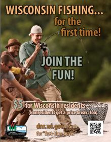 1000 images about fantastic fish on pinterest fishing for How much is a wisconsin fishing license