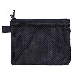 nylon mesh double zip case from MUJI