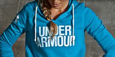 Under Armour's Favorite Fleece Hoodies. Oversized hood to cozy into when it's cold.