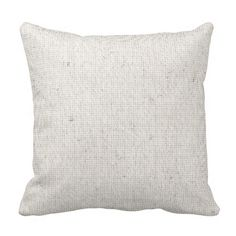 Light Linen Background Pillow