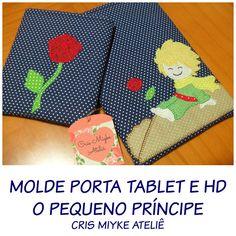 Delicinhas e Coisinhas: PAP Tutorial de Costura - Moldes Porta Tablet/Port...