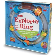 Explorer Ring - Learn fine motor skills with the motivation of flowing beads. The Explorer Ring works on a range of skills while encouraging tactile, auditory and visual exploration.