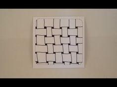 Zentangle Pattern - W2 - YouTube