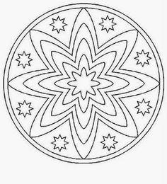 Mandalas To Paint Mandala Art, Mandala Pattern, Mandala Coloring Pages, Colouring Pages, Adult Coloring Pages, Coloring Books, Art Cd, Cd Crafts, Art Plastique