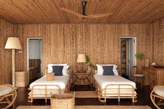 Discover a redesigned bamboo house on the Caribbean island of Mustique on HOUSE - design, food and travel by House & Garden.