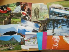 swapped some postcards at the February Postcrossing meetup in Oslo - got all of these
