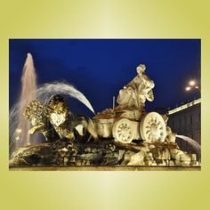 Marvelous  Fuente de Cibeles Plaza de Cibeles Madrid Spain