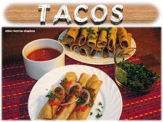 Receta de Tacos Guatemaltecos