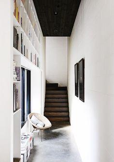 Fab hallway library idea