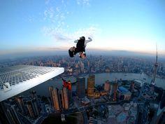 Base Jumping :D  #UltimateAdventure  #JetsetterCurator