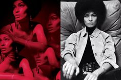 JOAN SMALLS. LOVE HOW SHE ROCKS THIS AFRO.