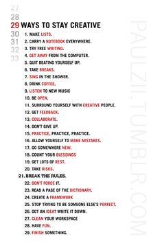 29 ways to be ƆRǣTɬ₩∑