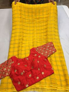 Elegant Fashion Wear Explore the trendy fashion wear by different stores from India Bridal Silk Saree, Satin Saree, Chiffon Saree, Saree Dress, Georgette Sarees, Sari Blouse, Silk Sarees, Saree Blouse Neck Designs, Fancy Blouse Designs