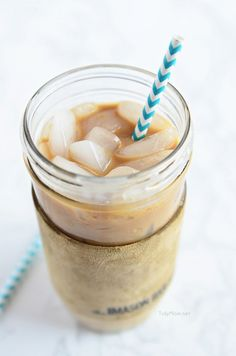 Salted Caramel Iced Coffee