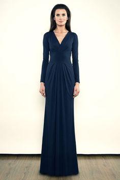Suknia Pamela Maxi - Navy Blue