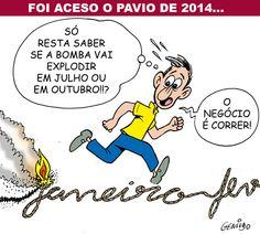 """Copa e Eleições vão fazer o Brasil """"Bombar"""""""