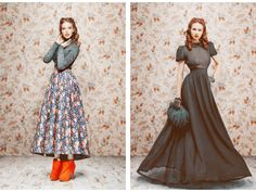 traditional eastern russian clothes | These dreamlike creations belong to Russian fashion designer Ulyana ...