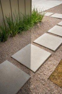 Modern front yard landscape ideas 54