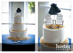 wedding cake, fun toppers