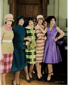 Clara Bow and the Girls...
