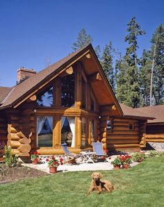 75 Best Log Cabin Homes Plans Design Ideas. Search for your dream log home floor plan with hundreds of free house plans right at your fingertips. Looking for a small log cabin floor plan? Small Log Cabin, Log Cabin Homes, Log Cabins, Latest House Designs, Cool House Designs, Log Home Floor Plans, House Plans, Bungalow, Casas Country