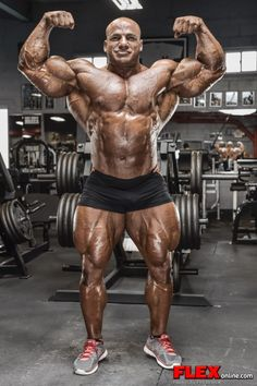"""Mamdouh """"Big Ramy"""" Elssbiay after the 2014 New York Pro"""