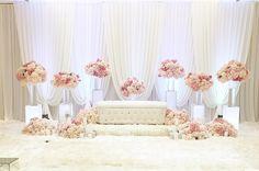Wedding Backdrop Design, Wedding Stage Decorations, Pelamin Simple, Diy Wedding Reception, Wedding Dress, Backdrops, Red Colour, Party Lights, Lights Background