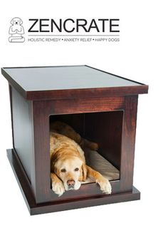 ZENCRATE The Smart Dog Crate for Dogs with Anxiety