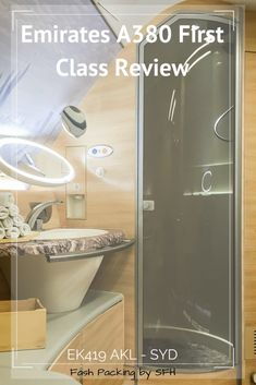 My Emirates A380 first class review will blow your mind. Did I mention you can shower at 36,000ft? #emirates #a380 #emiratesfirstclass #airlinereview #a380firstclass #emiratesa380 Emirates A380, Emirates Airline, Travel Advice, Travel Tips, Travel Destinations, Asia Travel, Travel Guides, Emirates First Class, Travel Reviews